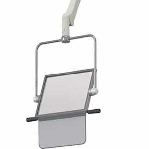 Overhead ceiling mounted shield K350