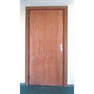 Porte plombée